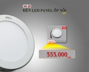 Báo giá đèn LED Panel ốp nổi – MES