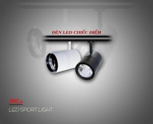 Đèn LED rọi ray và cấu tạo