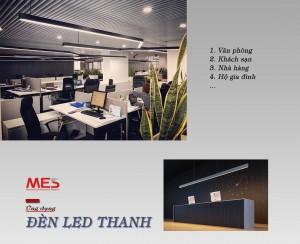Đèn LED thanh treo là gì?