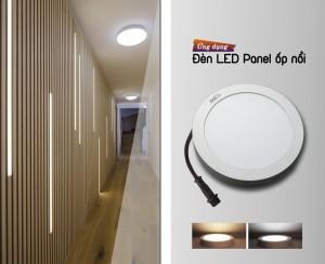 Đèn LED Panel tròn ốp nổi trần nhà