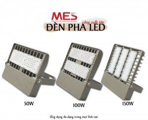 Đèn pha LED đa dạng về công suất