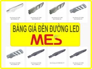 Bảng giá đèn LED chiếu sáng đường phố MES tốt nhất năm 2018