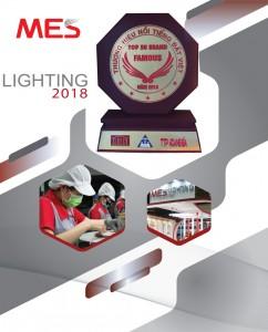 """MES Lighting lọt TOP 50 """"THƯƠNG HIỆU NỔI TIẾNG ĐẤT VIỆT"""""""