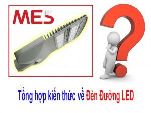 Tổng hợp kiến thức về đèn đường LED - Có thể bạn chưa biết?