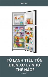 Tủ lạnh tiêu tốn điện xử lý như thế nào?