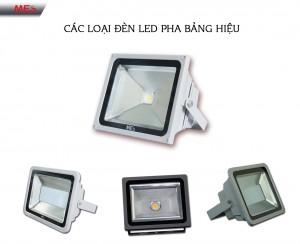 Đèn pha LED chiếu bảng hiệu