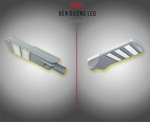 Đèn đường LED công suất 100W