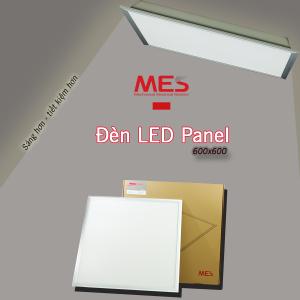 MES chuyên cung cấp Đèn LED Panel 600x600 siêu mỏng tại Bình Dương