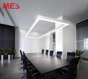 Mẫu đèn led thanh treo đơn giản đẹp hút mắt cho phòng họp