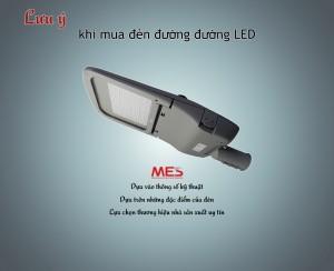 Đèn đường LED và cấu tạo