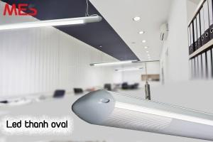 Mua đèn led thanh treo oval giá rẻ tại Bình Dương