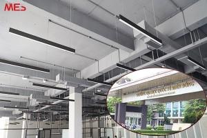 MES cung cấp đèn thanh cho dự án thư viện mới của ĐH Quốc Tế Miền Đông