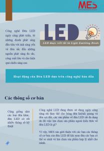 Giới thiệu Đèn LED MES