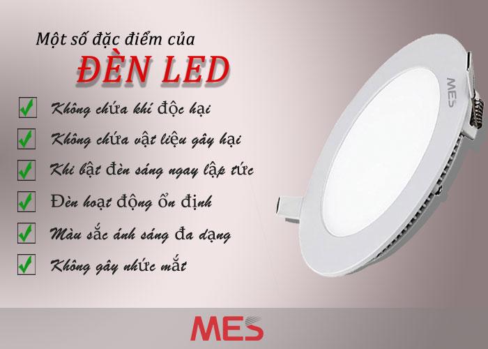 đặc điểm của đèn Led