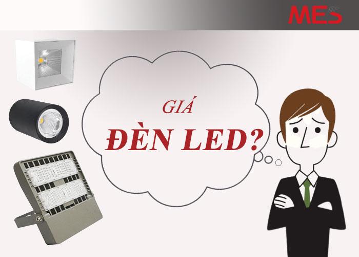 giá đèn LED, bóng đèn LED có giá bao nhiêu?