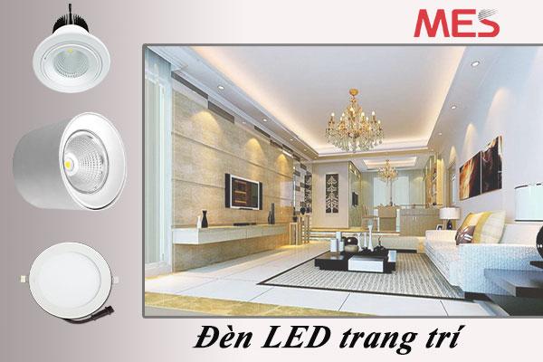 Đèn LED tròn dùng để trang trí